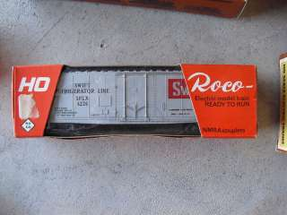 Vintage Roco HO Scale Swift Refrigerator Car w/ Box