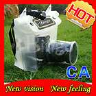 dslr slr camera waterproof case dry bag canon nikon 20m