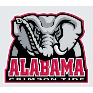 ALABAMA CRIMSON TIDE Elephant Logo vinyl decal 6 car