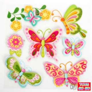 3D Cardboard Butterfly Wall Room Sticker,Kids,WS006