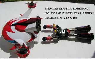 GRENDIZER GOLDORAK GOLDRAKE GX 04S SOUCOUPE+4 VAISSEAUX