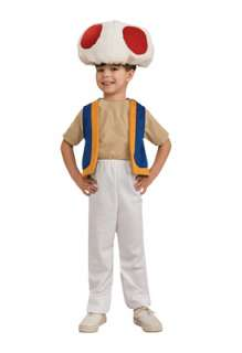 Super Mario Brothers Toad Child Halloween Costume