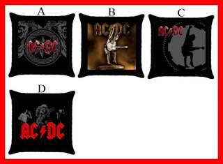 AC / DC AC/DC Rock Band Hot Throw Pillow Case #Pick 1