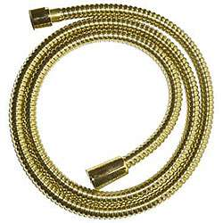 Polished Brass Replacement Hose for Hand held Shower