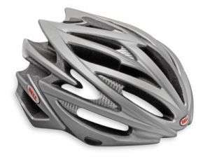 BELL VOLT ROAD BIKE HELMET TITANIUM GRAY LARGE 2010