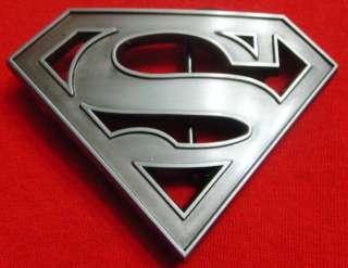 SUPERMAN LOGO Metal Belt Buckle   New