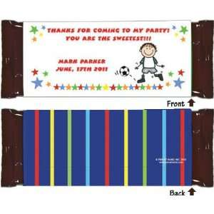 Pen At Hand Stick Figure Candy Wrappers   (Basic   Boy
