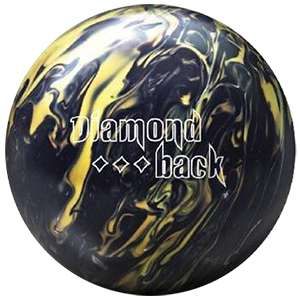 Brunswick Diamondback black Bowling ball 10 lbs New