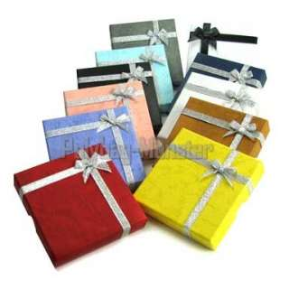 36 Wholesale Jewelry Gift Box 9x9x2 Color Choice #2 3