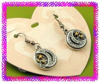 BRIGHTON MOONLIGHT GLAZE French Wire EARRINGS NWCard