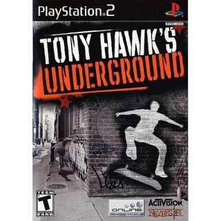 Tony Hawks Underground PS2 Games
