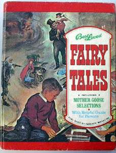 1974 Best Loved Fairy Tales HC Book  Parents Magazine