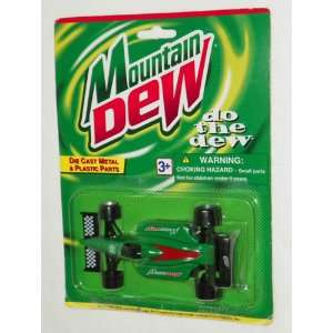 MOUNTAIN DEW   Special Edition Die Cast Race Car