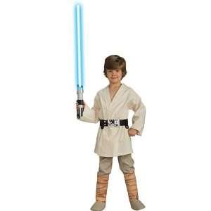 Rubies Costume Co 33111 Star Wars Deluxe Luke Skywalker Child Costume