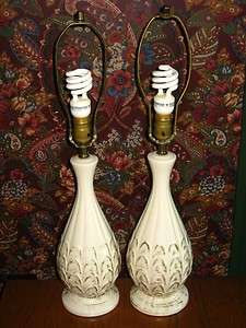 Vinage Mid Cenury Hollywood Regency able Lamps |