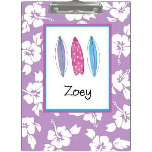 Kelly Hughes Designs   Clipboards (Surfer Girl) Office