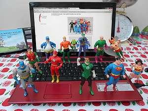 KENNER DC Comics Super Powers Action Figures SUPERMAN BATMAN WONDER