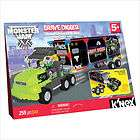 NEX Monster Jam Grave Digger Transporter Rig Building Set NEW IN BOX