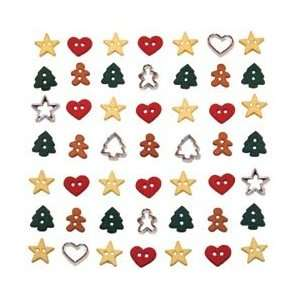 Jesse James Dress It Up Holiday Embellishments Itty Bitty Cut Out