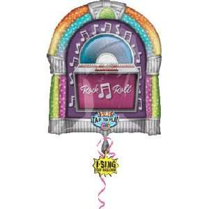 Rock & Roll Juke Box Sing A Tune 29 Mylar Balloon Toys