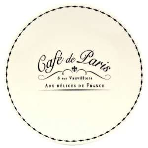 Retold Set of 4 Café de Paris Dessert Plates
