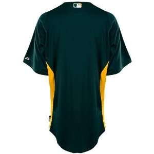 Oakland Athletics Adult Cool Base Blank Practice Jersey