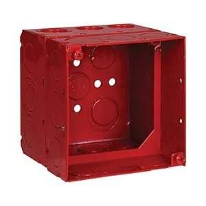 Thomas & Betts 2 1/8x4w/ext Ring Red Fire Alarm Box