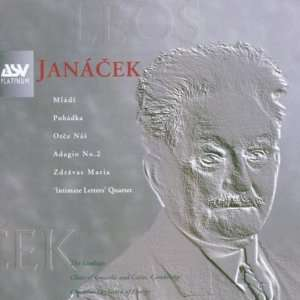 String Quartet Intimate Letters Janacek, Lindsays