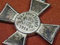 German Germany WW1 Cross Order Medal Badge