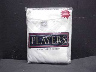 TALL Mens 100% Cotton Players Crew Neck Tee Shirts XL