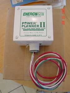 ENERGY SMART POWER PLANNER II SAVE MONEY AIR COMPRESSOR