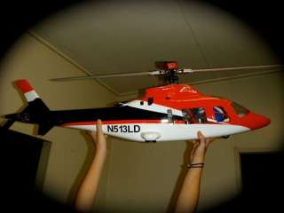 RC Agusta A 109 Helicopter 9Ch RTF 500 Trex Fuselage