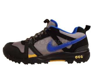 Black Blue Grey Mens Classic Hiking Outdoors Shoes 348212 009
