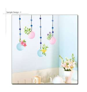 BEADS DECOR REMOVABLE VINYL WALL STICKERS MURAL DECALS