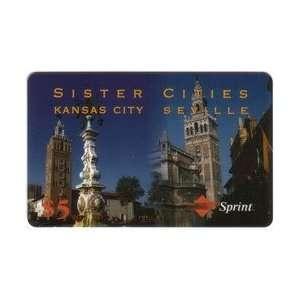 Collectible Phone Card $5. Sister Cities Kansas City