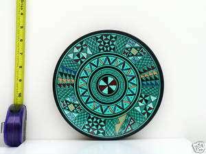 New Hand Painted Ceramic 8 Decorative Plate Original