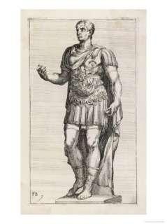 Gaius Julius Caesar Roman Emperor Giclee Print at AllPosters