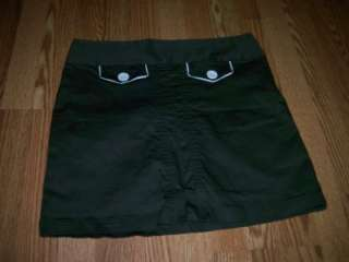 LIJA WOMENS GREEN GOLF TENNIS SKORT SIZE 8 STRETCH