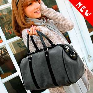 Simitter new fashion women men casual simple big handbag shoulder bag