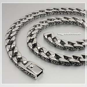 Cool 316L Stainless Steel Mens Necklace Chain 5E005