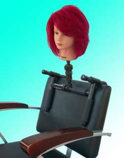 can also be used on most shampoo chairs to enable the user to practice