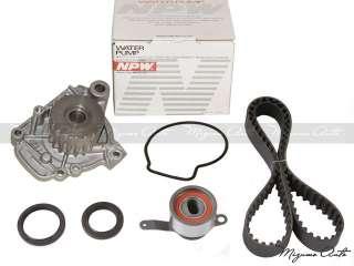 96 00 Honda Civic Timing Belt & Water Pump D16Y7 D16Y8