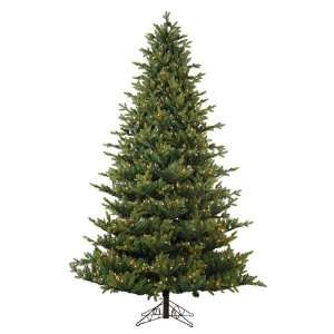Oregon Pine Artificial Christmas Tree with Pine Cones   Clear Lights