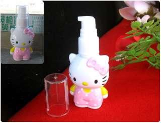 Lovely Hello Kitty Body Shape Spray Bottle Pump Holder