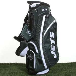 NFL New York Jets Green White Fairway Stand Golf Bag