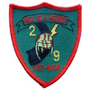 2nd Battalion 9th Marines Vietnam Patch 3 Patio, Lawn & Garden