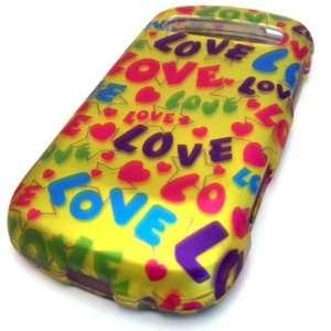 Samsung R720 Admire Vitality Love Text Hard Case Cover