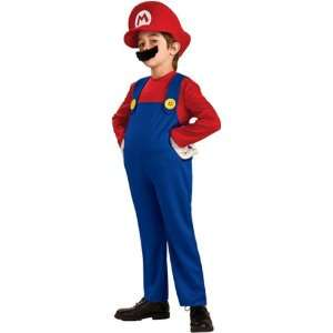 Deluxe Super Mario Child Costume Toys & Games