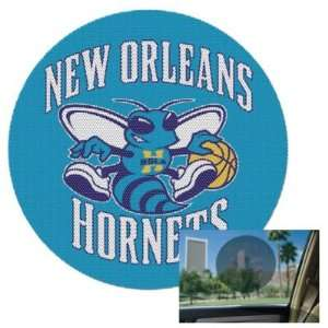 New Orleans Hornets Official Logo 8 Perforated Window Decal: