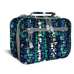 World Blue Squares Cody Lunch Tote